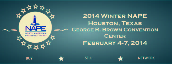 Winter NAPE 2014 - George R. Brown Convention Center - Houston, TX