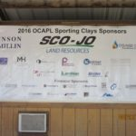 2016 OCAPL Sponsor Board - Sporting Clays Tournament