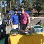2 Golfers, Cigar Table - 2017 HAPL Golf Tournament