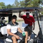 2 Golfers, Golf Cart 2 - 2017 HAPL Golf Tournament