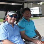 2 Golfers, Golf Cart 4 - 2017 HAPL Golf Tournament