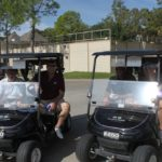 4 Golfers, 2 Golf Carts - 2017 HAPL Golf Tournament