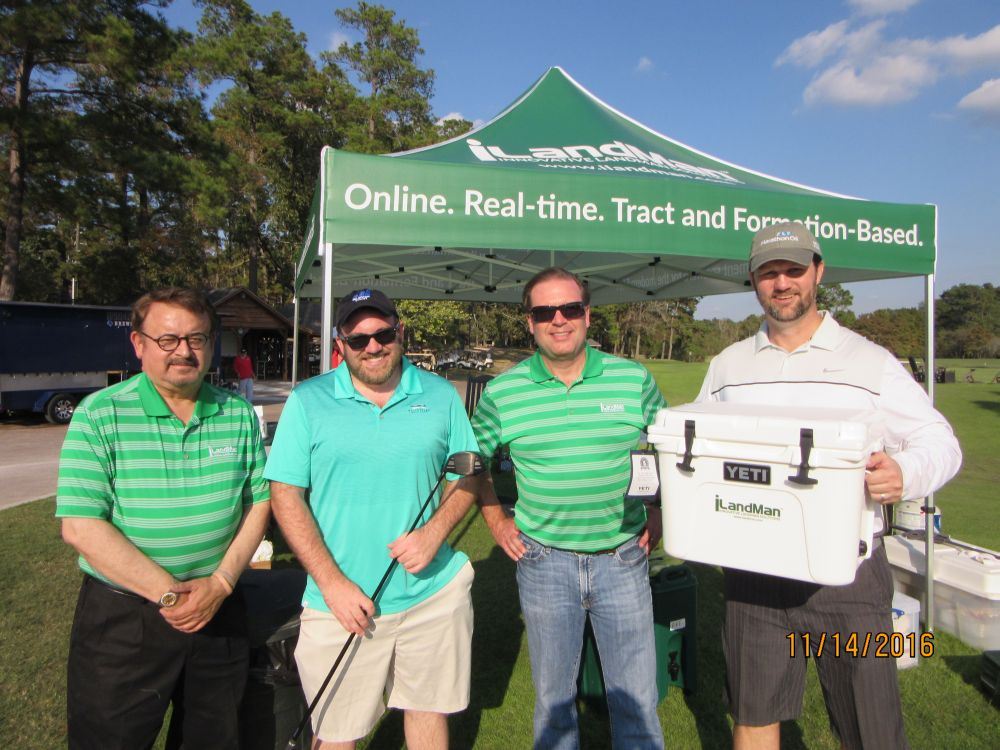 Al Tovar, Trent Burleigh, TJ Westerhaus, Stephen Thompson - 2016 HAPL Golf Tournament