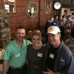 Adam Chapman, Hillary Knight, Bill Hacket - 2017 PBLA Clay Shoot