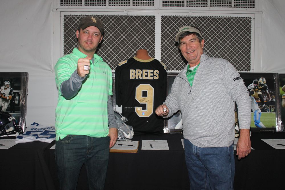 Adam Chapman, Richard Hines, Saints Memorabilia - 2018 HAPL Golf Tournament