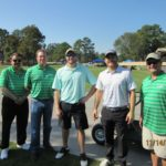 Al Tovar, TJ Westerhaus, Andrew McGhee, Alan White, Richard Hines - 2016 HAPL Golf Tournament