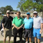 Al Tovar, Three HAPL Golfers - 2016 HAPL Golf Tournament