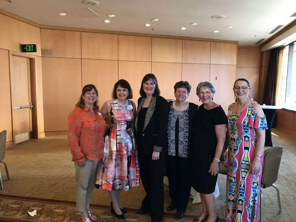 Andrea Hines, Audrey Curry, Susan Orjias, Wendy Dalton, Sheila Miller, Caryl Devlin - AAPL 63rd Annual Meeting