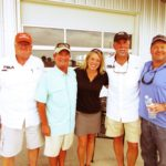 Charles House, Richard Hines, Michelle Hightower, Curt Horne, Michael Browning - 2016 PBLA Sporting Clays Tournament