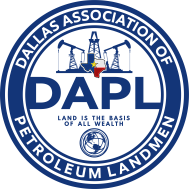 Dallas Association of Petroleum Landmen Logo
