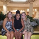 Dana Jackson, Denise Duplantier, Tiffany Patterson - 2017 NALTA Annual Conference