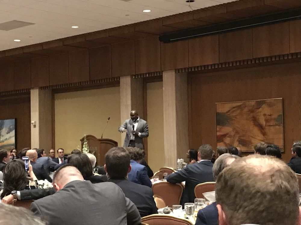 Emmitt Smith Speaking - 2019 PBLA Executive Night