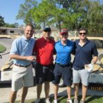 Four HAPL Golfers - 2016 HAPL Golf Tournament
