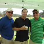 Nick Oge, Todd Fontenot, Richard Hines - 2016 HAPL Golf Tournament