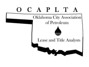 Oklahoma City Association of Petroleum Lease and Title Analysts