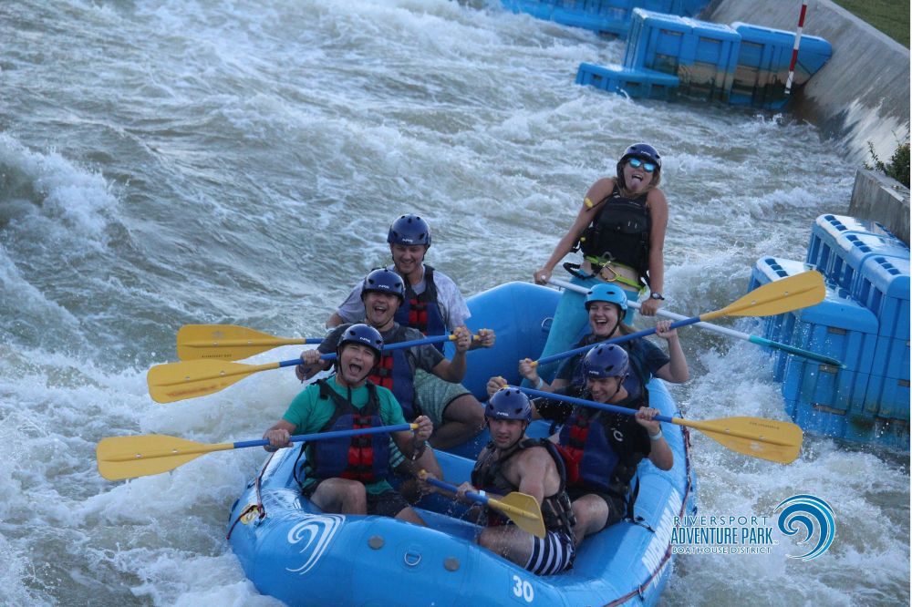 OKC Riversports Rafting - Oklahoma City 2016