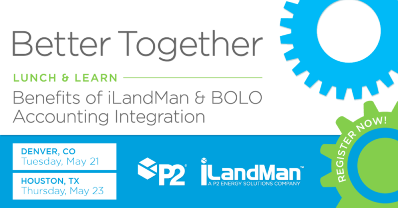 P2 BOLO & iLandMan | Lunch & Learn - May 2019