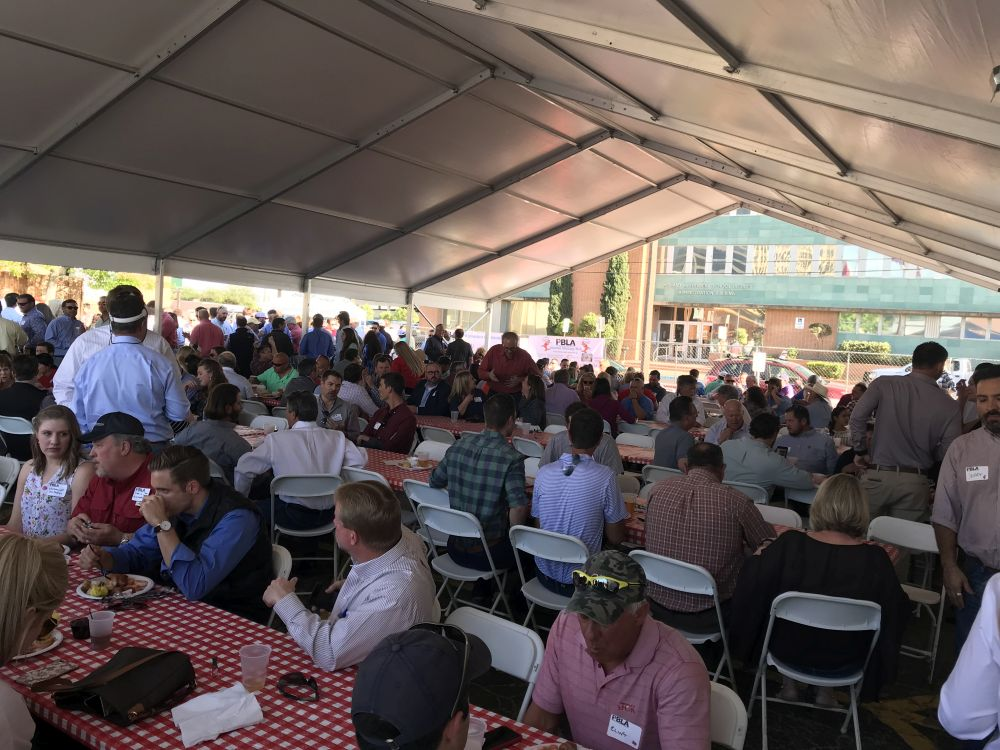 PBLA Shrimp Boil Under The Tent - 2018 PBLA Shrimp Boil
