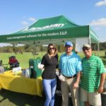 Rebecca Wright, Scott Davis, Richard Hines - 2016 HAPL Golf Tournament