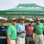 Richard Hines, David Farmer, Golfer, TJ Westerhaus - 2017 HAPL Golf Tournament