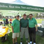 Richard Hines, Green Golfer, Al Tovar - 2016 HAPL Golf Tournament