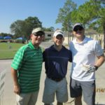 Richard Hines, HAPL Golfer, Justin Matthews - 2016 HAPL Golf Tournament