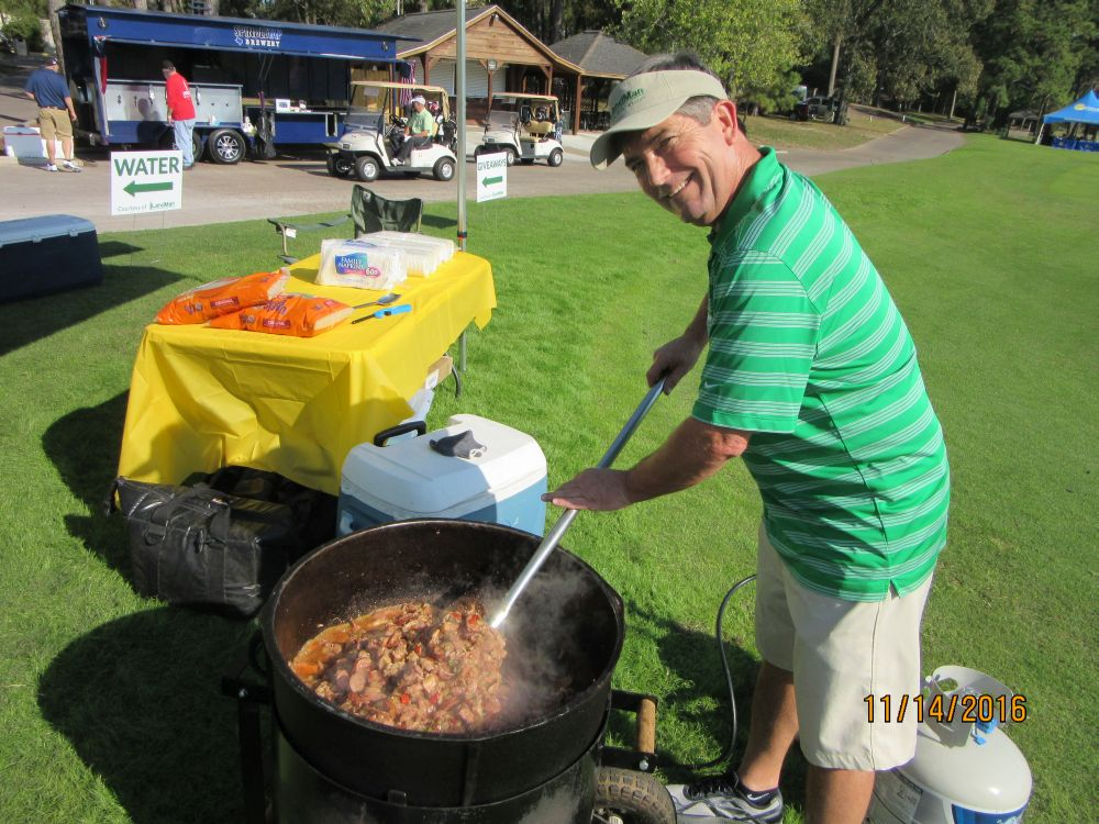 Richard Hines, Jambalaya Pot 2 - 2016 HAPL Golf Tournament