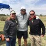 Richard Hines, Jose Canseco, TJ Westerhaus - 2018 PBLA Golf Tournament