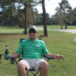 Richard Hines Relaxing - 2017 HAPL Golf Tournament