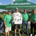 Richard Hines, Stephen Thompson, TJ Westerhaus, Al Tovar - 2016 HAPL Golf Tournament
