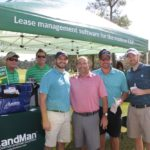 Richard Hines, TJ Westerhaus, 4 Golfers - 2017 HAPL Golf Tournament