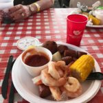 Shrimp Corn Sausage Potato Plate