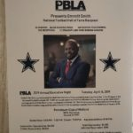 Special Guest Emmitt Smith - 2019 PBLA Executive Night