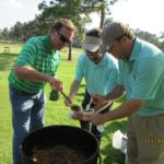 TJ Westerhaus Serving Jambalaya - 2016 HAPL Golf Tournament