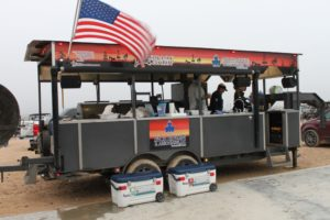 Ted Walters Cooking Trailer - 2017 PBLA Clay Shoot