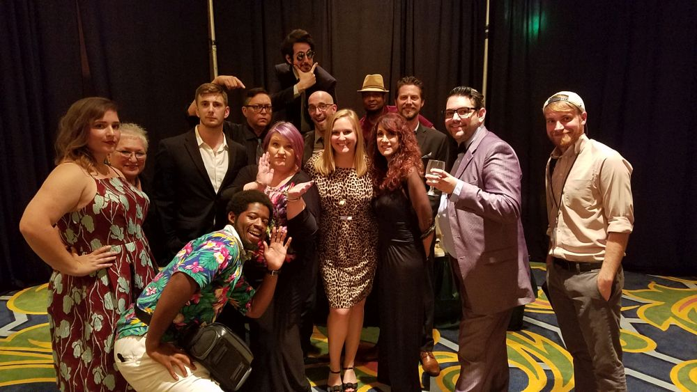 Tiffany Patterson With Murder Mystery Cast - 2017 NALTA Annual Conference