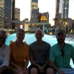 Tim Supple, Sarah Caldwell, Nathan Greneaux, Adam Chapman, Pool - Summer NAPE 2018