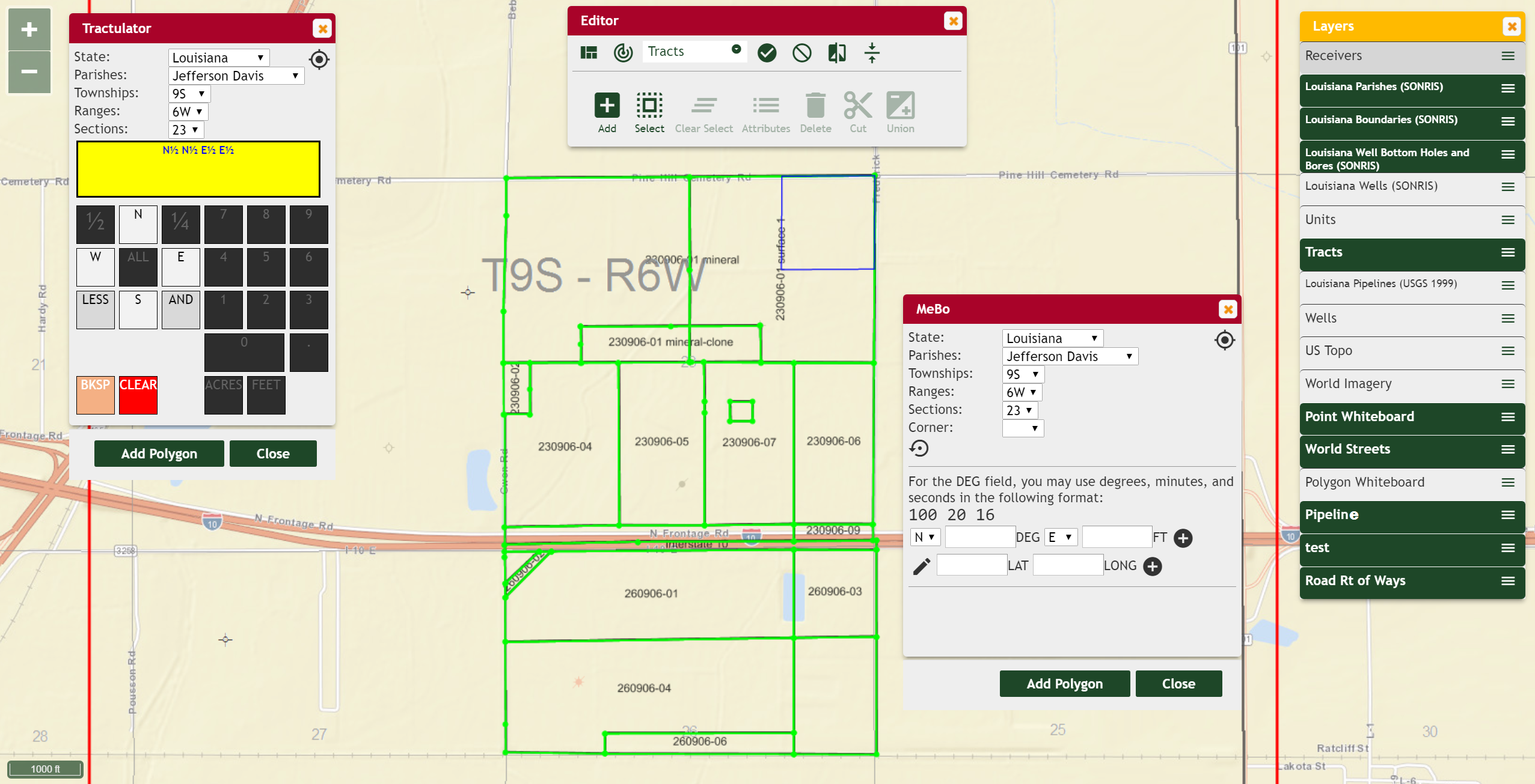 Build and Edit Tracts and Units Without 3rd Party Systems or GIS